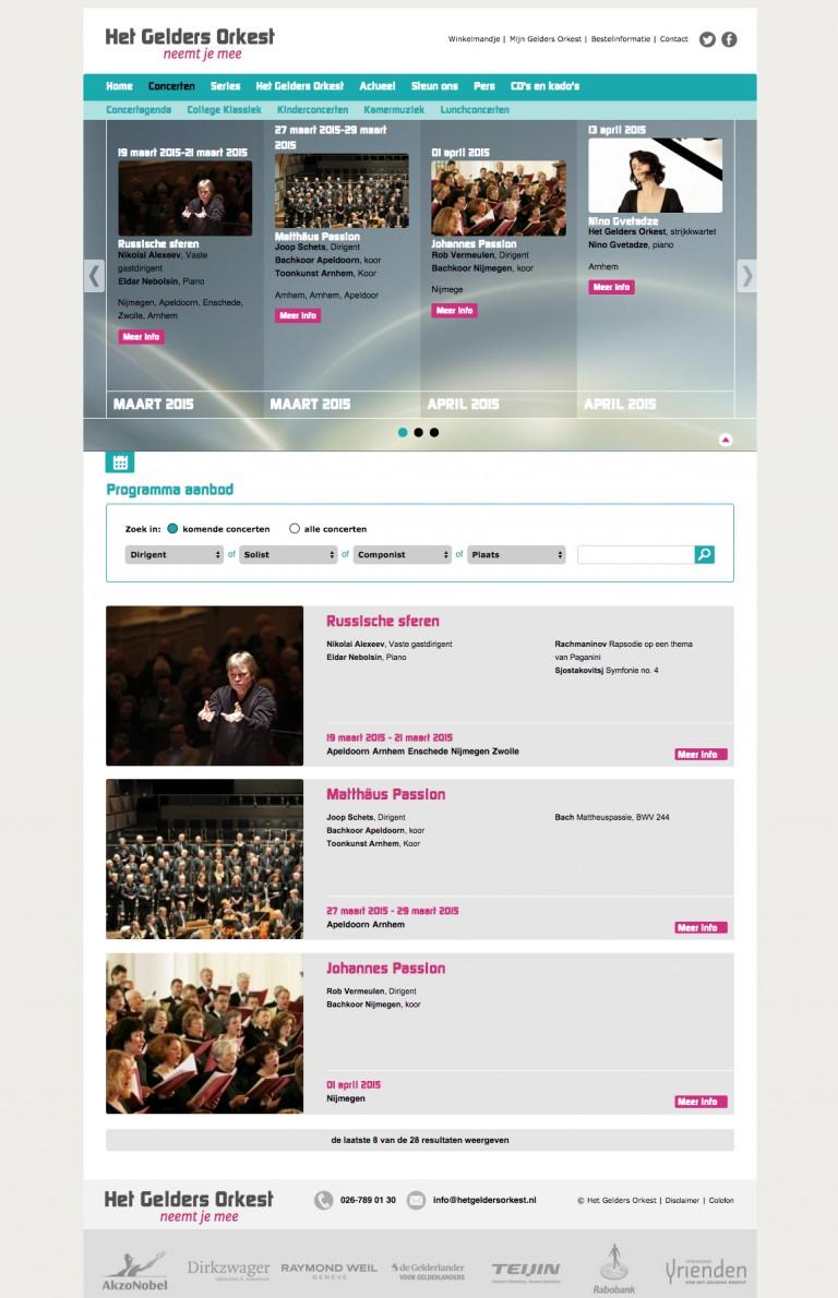 het gelders orkest kalender