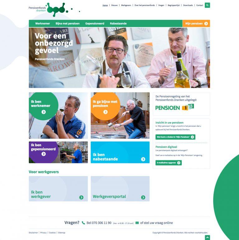 pensioenfonds dranken homepage