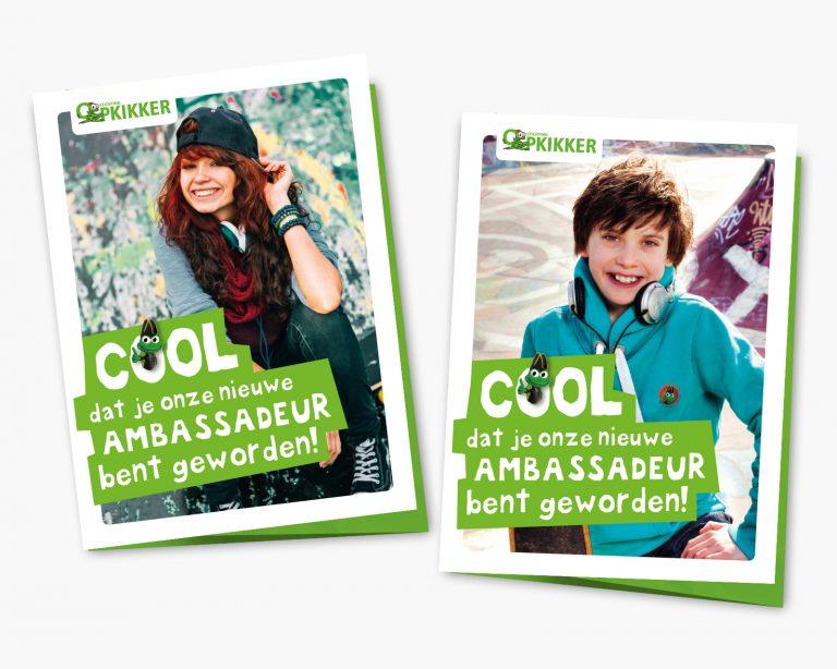 Stichting Opkikker ambassadeur mappen